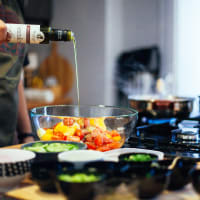 Organic Valencian cooking class and lunch