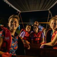 Day trip Maeklong Train market - Sunset dinner in Amphawa - Fireflies
