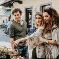 The Picture Perfect Town of Pistoia with a Local