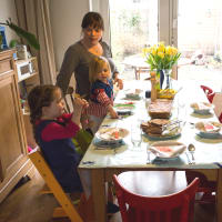 Dine with a real Amsterdam family of five!