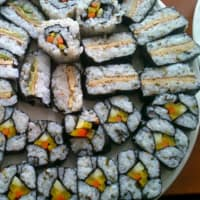 I am offering great home made sushi!