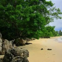 An unspoiled hidden beach in Badian