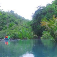 A Learning banca ride Bujo River Eco-Tour