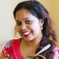 Delicious Sri Lankan meal
