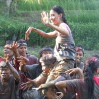 Mepantigan Balinese Mud Games and Archery