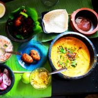 Cook food Serve love