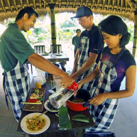 Balinese Farm Cooking Experience