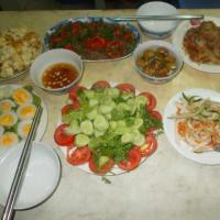 Having Dinner with a Hanoian Family