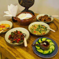Javanese home style dinner experience