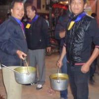 Traditional eating experience: Newari Bhoj