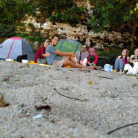 Amazing Beach Camping And Water Fall Trip