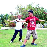 Learn basic Tai-Chi exercises