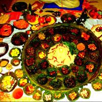 Local organic Food in a Homey Setting