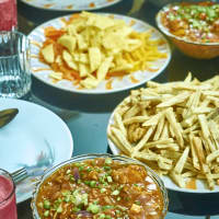 International fusion food
