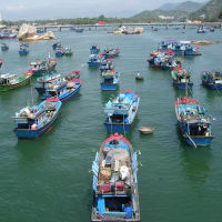 Nha Trang from coastline to fields