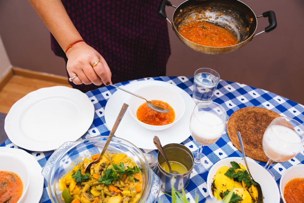 Authentic Indian Dinner  image 4