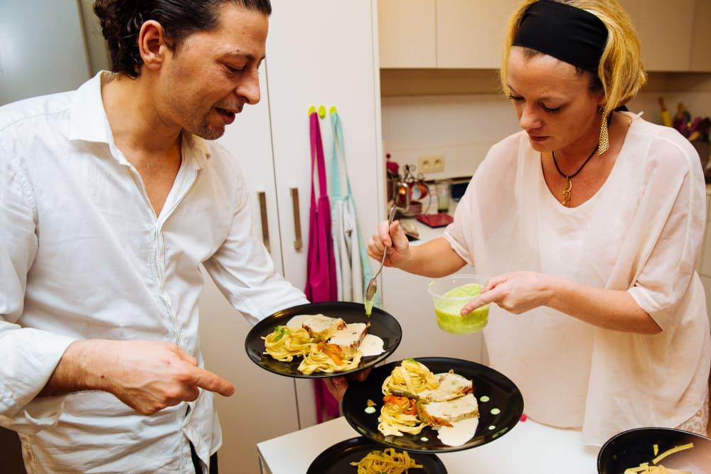4 course Mediterranean Home Dinner image 2