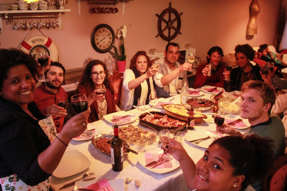 Fusion Dinner with international flavors  image 1