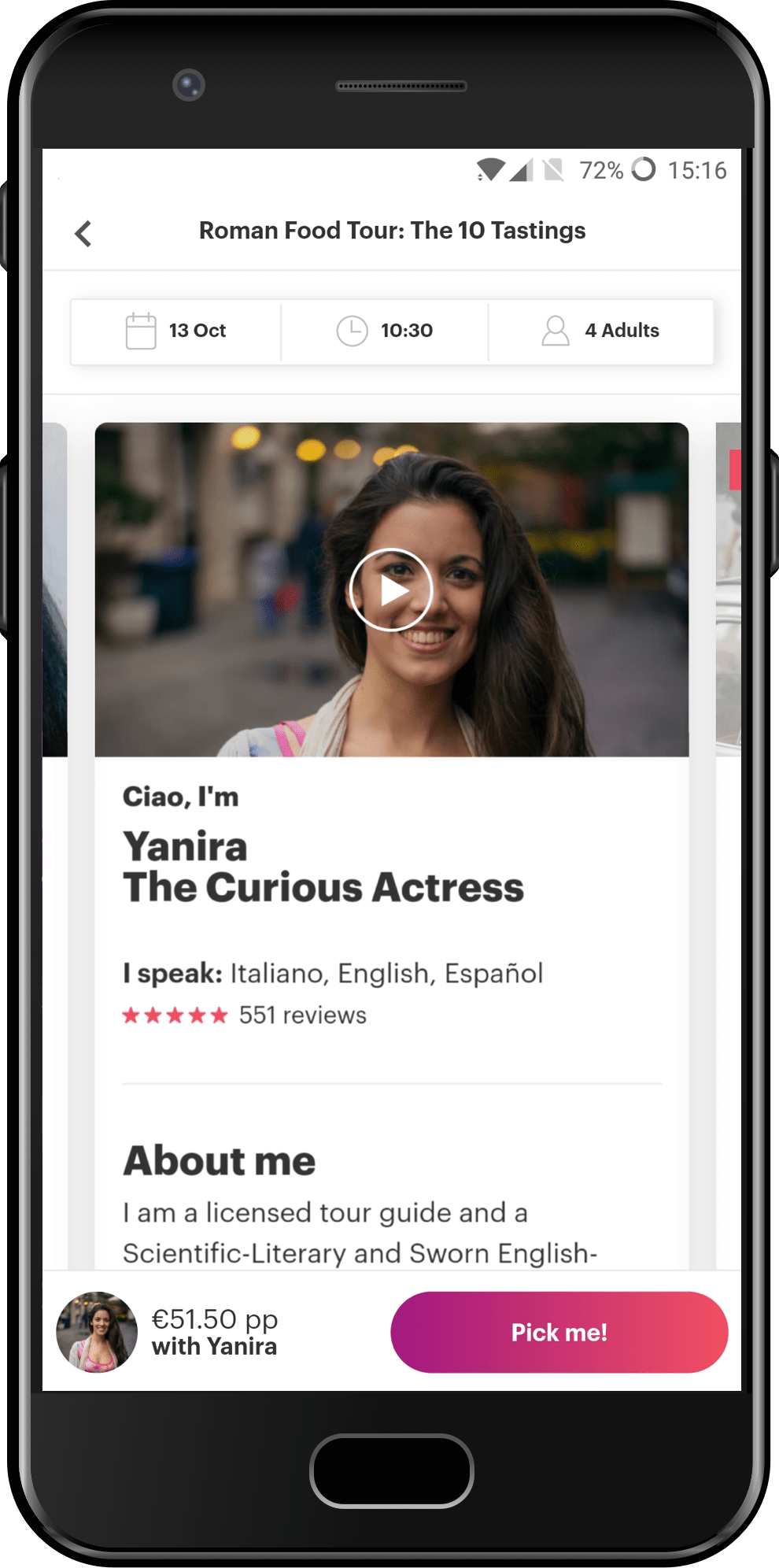 Connect with Locals with the Withlocals Android app