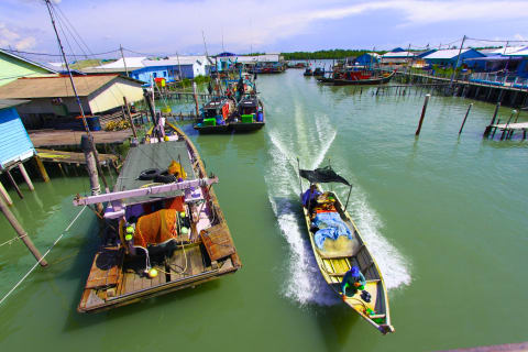 Rainforest waterfall &- Fishing Village Experience - Day trip in ...
