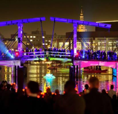 Amsterdam Light Festival Private Boat Tour Amsterdam