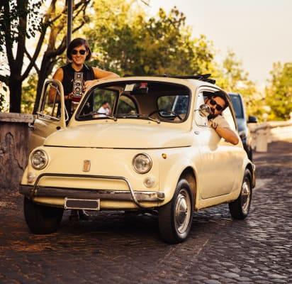 Tour Vintage En Un Classic Fiat 500