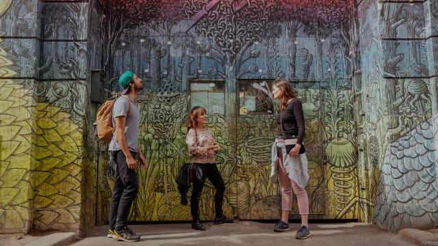 The Colors Of Rome Graffiti Street Art Tour Rome